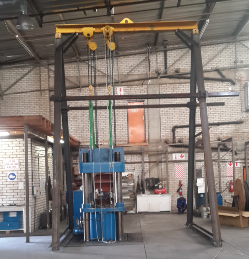 Fixed A-frame Gantry Kits - Lifting Solutions