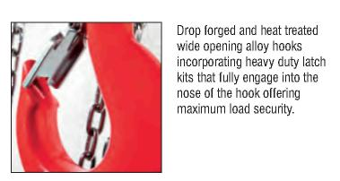 Tiger Chain Block-Drop Forged and Heat Treated