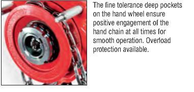 Tiger Chain Block The Fine Tolerance Deep Pockets